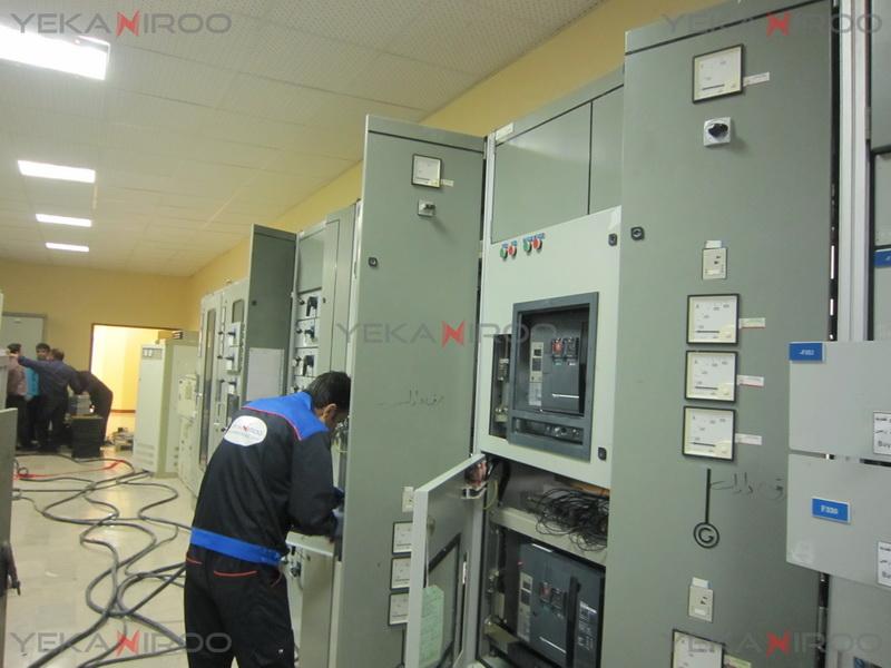 Shahid Abbaspour Power Plant-Shahid Abbaspour Dam and Power Plant- Yekan Niroo- Yekan Niroo Paya- Retrofit- Unelec - Schneider Electric- ACB - MasterPact- Air Circuit Breaker- اشنایدر الکتریک- تله مکانیک- یونولک- مسترپکت- کلید هوایی- یکان نیرو- یکان نیرو پایا- نیروگاه شهید عباسپور- سد و نیروگاه شهید عباسپور